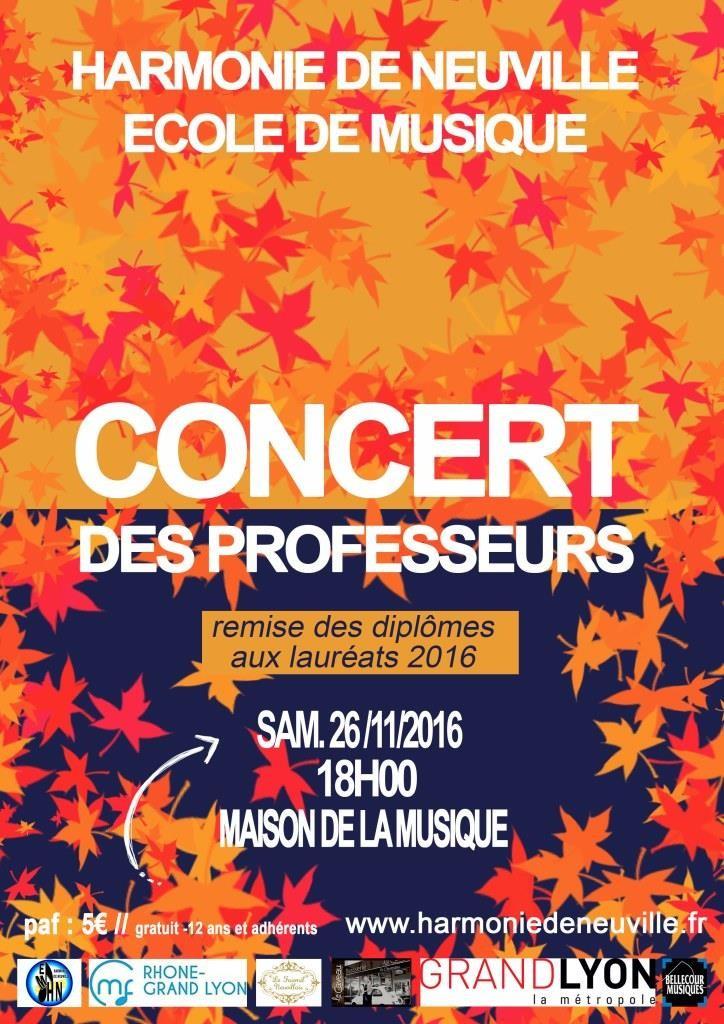 Concert des Professeurs