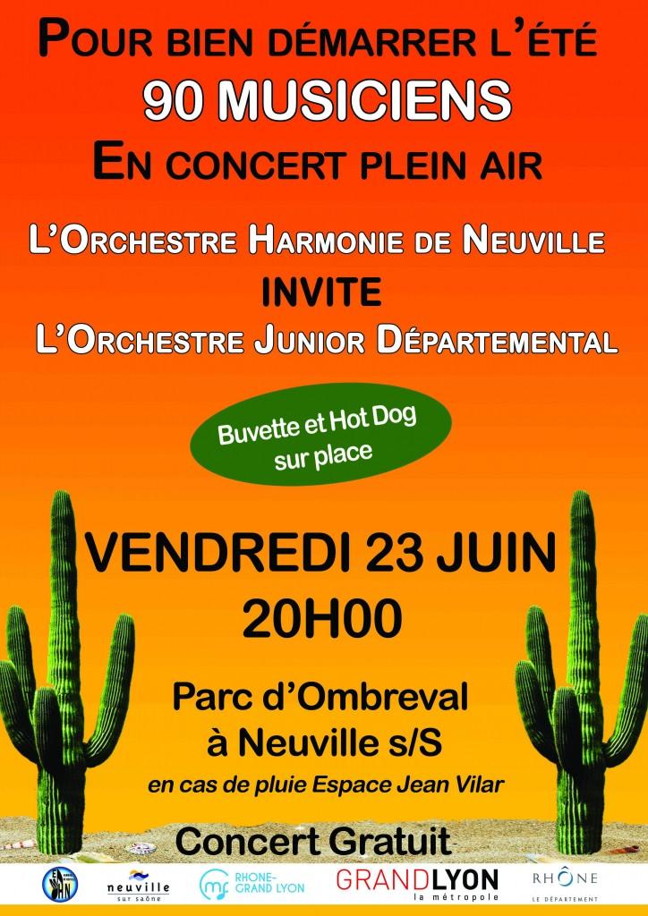 Concert 23 juin